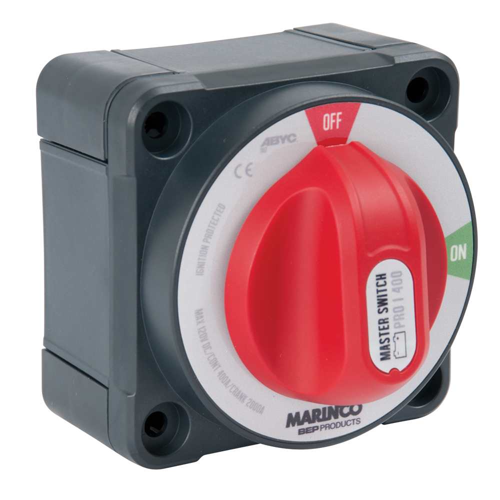 BEP Pro Installer 400A Double Pole Battery Switch - MC10