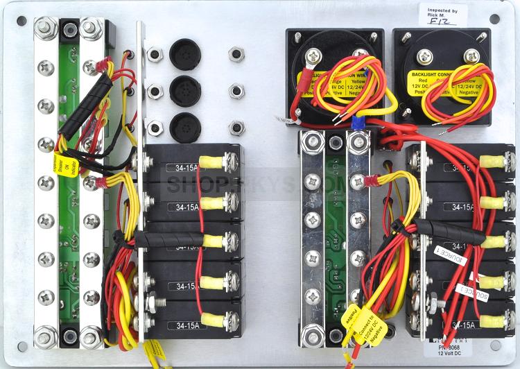 Blue Sea Systems 8068 Dc Panel 13 Pos V Ammeter