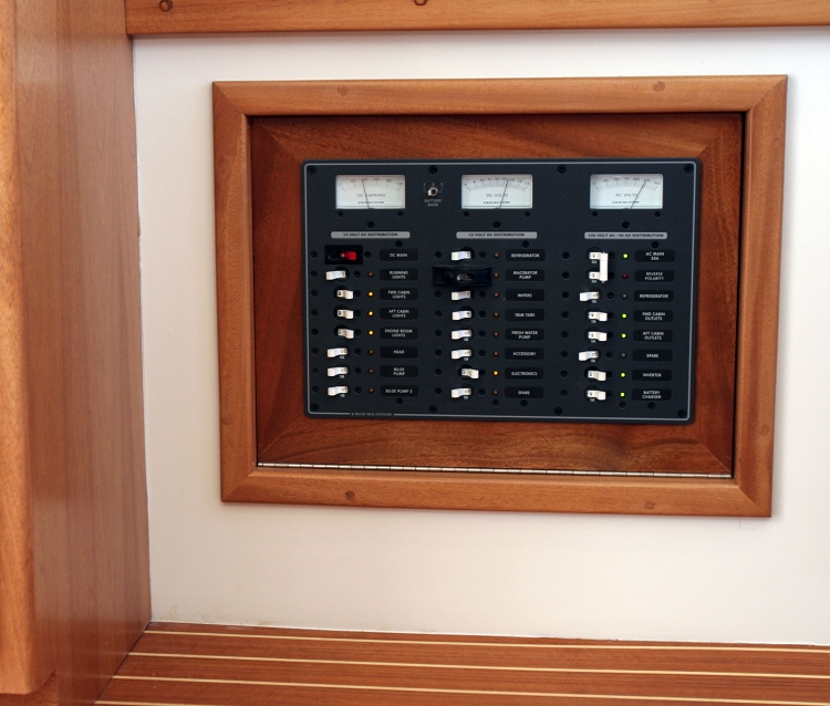 Blue Sea Systems 8084 Ac And Dc Circuit Breaker Panel For