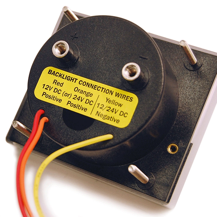 Blue Sea 8253 Ammeter DC 100-0-100A w/Shunt Dc Ammeter Shunt Wiring Diagram on