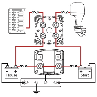 circuit diagram showing acr combined