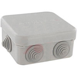 Altech Corp HP100 Junction Box Semi-rigid Light Grey Polypropylene
