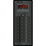 Blue Sea 1227 Modular 360-Series DC Panel 8 pos with Multimeter