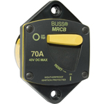 Blue Sea 7041 Panel Mount 187-Series DC Circuit Breaker 70 Amps