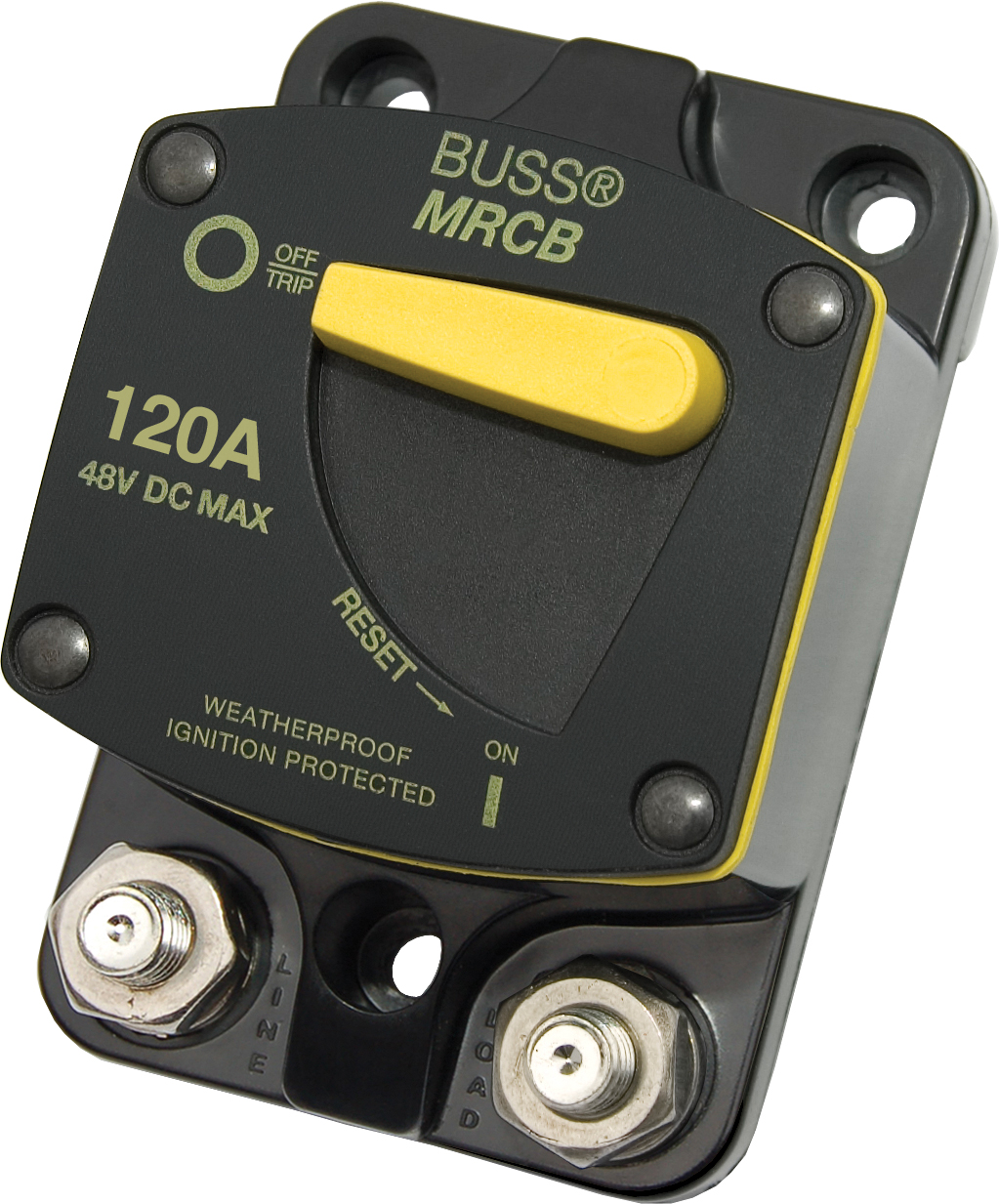 Blue Sea 7146 Surface Mount 187-Series Circuit Breaker 120 Amps