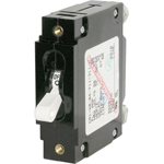 Blue Sea 7352 C-Frame Single Pole Circuit Breaker 15 Amps White