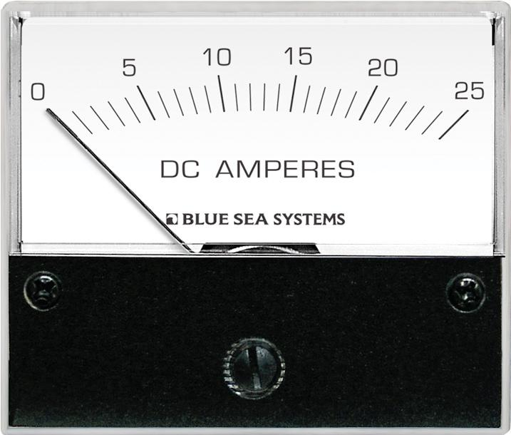 Blue Sea 8005 Ammeter DC 0-25A w/int. Shunt