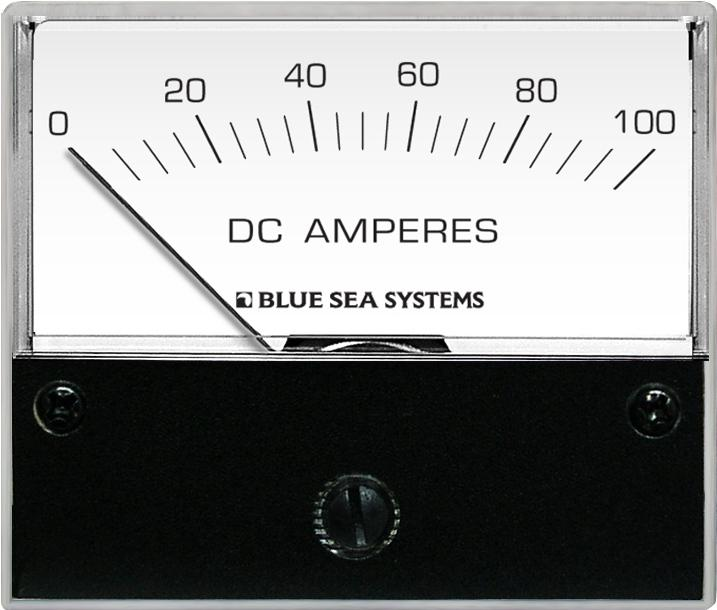 Blue Sea 8017 Ammeter DC 0-100A + Shunt