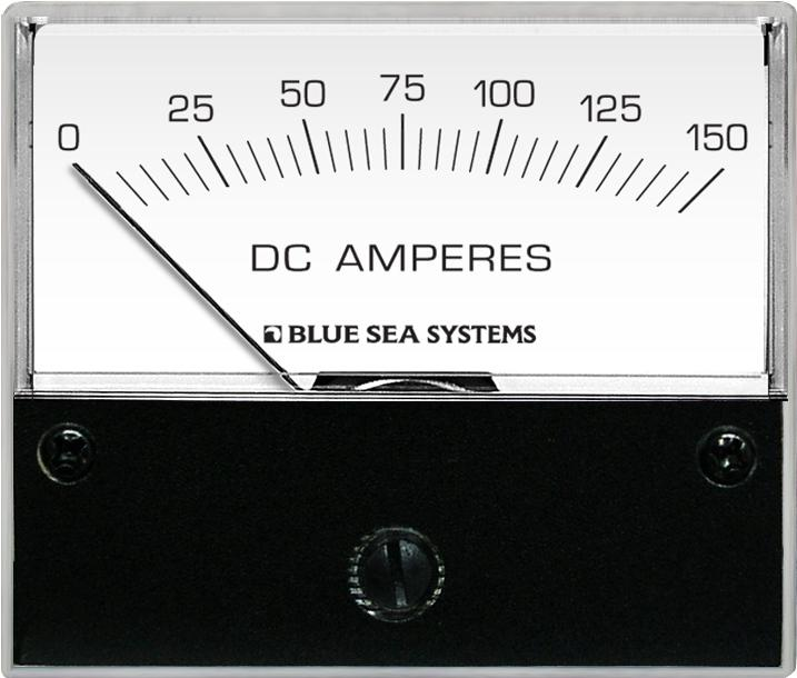 Blue Sea 8018 Ammeter DC 0-150A + Shunt