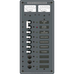 Blue Sea  8074 AC Circuit Breaker Panel with meters