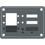 Blue Sea 8088 Blank DC Panel for 3 C-Series Circuit Breakers