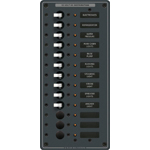 Blue Sea 8376 DC Circuit Breaker Panel with 13 Positions