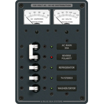 Blue Sea 8409 Panel 120VAC 5 pos V/Ammeter w/Main