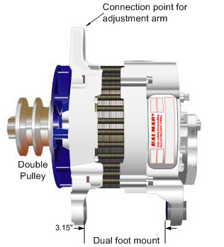 Installing a High Power marine alternator on your boat. on 3 phase alternator wiring diagram, 12 volt alternator wiring diagram, single wire alternator wiring diagram,