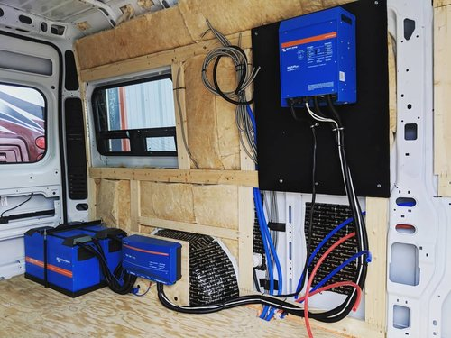 Camper Van and RV Electrical Systems