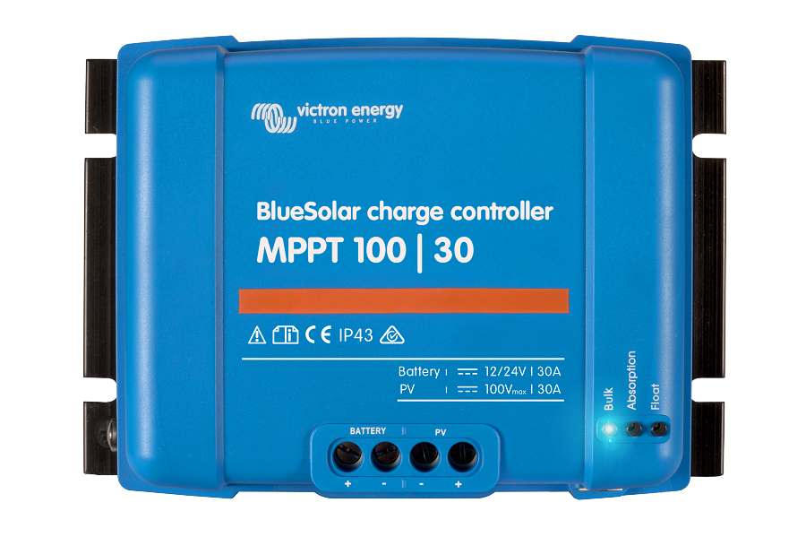Victron Energy SCC020030200 BlueSolar MPPT Charge Controller 100/30