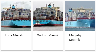 Maeersk Line Container Ships