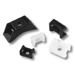 Pacer Marine Cable Tie Mount for #8 Screws 25 Pack