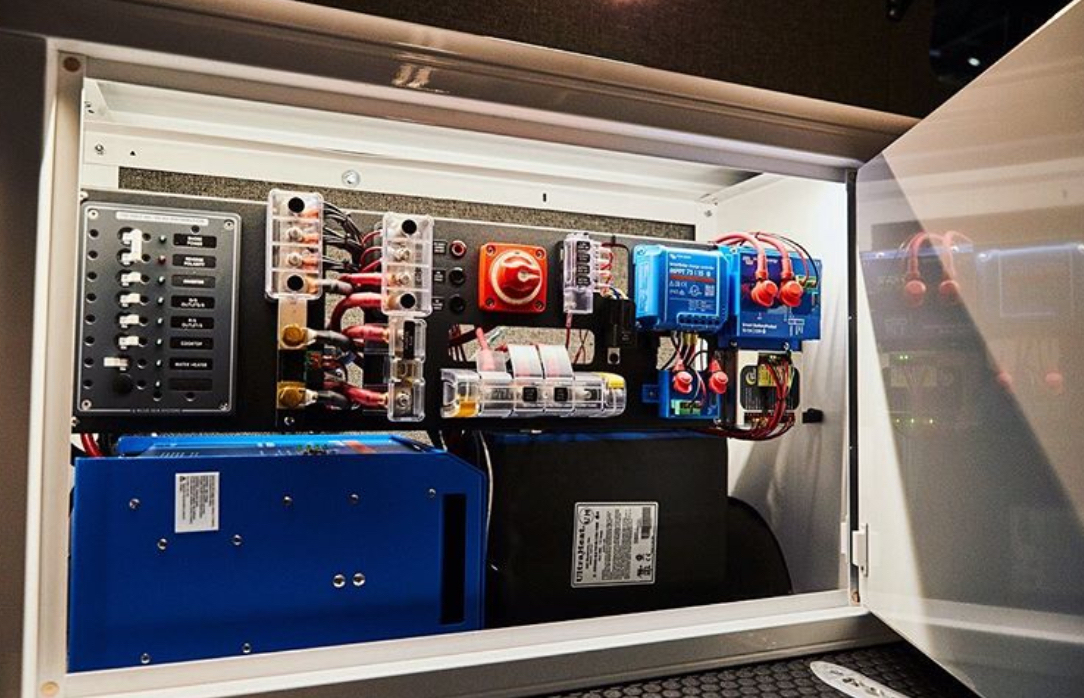 Sprinter van battery system