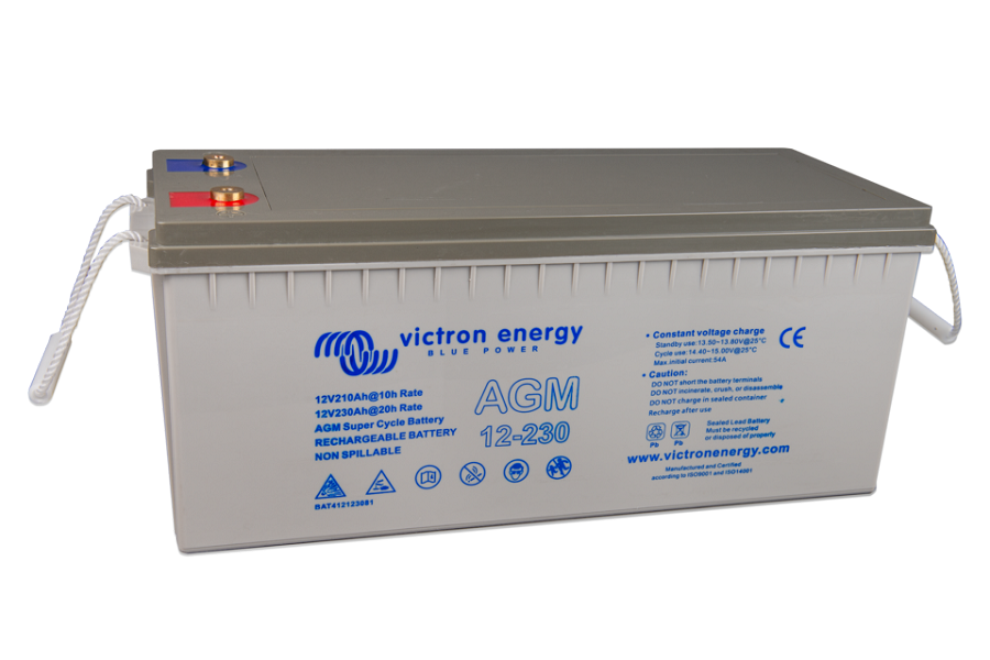 Victron Energy  BAT412123081  AGM Super Cycle Battery 12V/230Ahr
