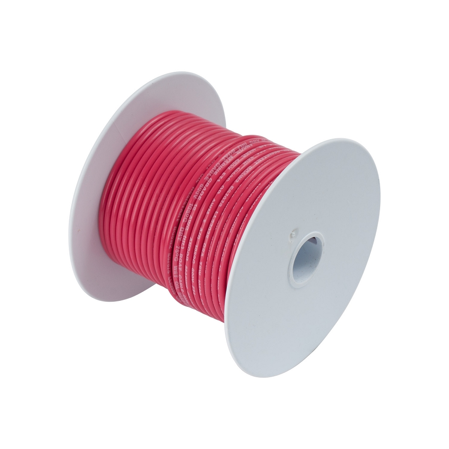Ancor 108810 Marine Tinned wire 10 awg Red - 100 ft roll