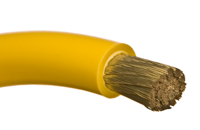 Yellow Battery Cable