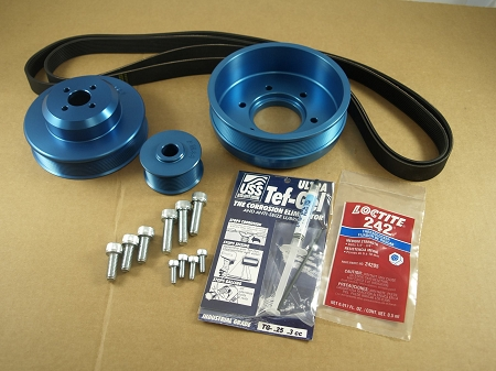 Balmar Pulley Kit 48-WSP-33 for Westerbeke 30C, 33