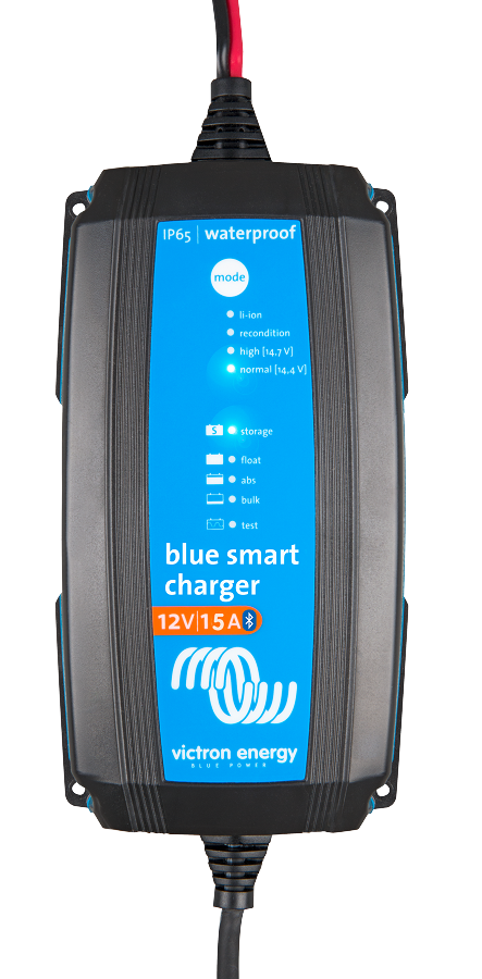 Victron Energy BPC121531104 Blue Smart Waterproof Battery Charger 12/15 with Bluetooth