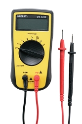 Sperry Instruments DM6250 Digital Autoranging Multimeter