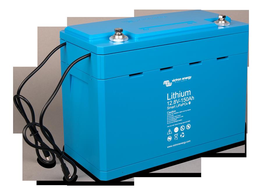 Victron Smart Lithium Iron Phosphate Battery 12 8 Volt 160 Ahr