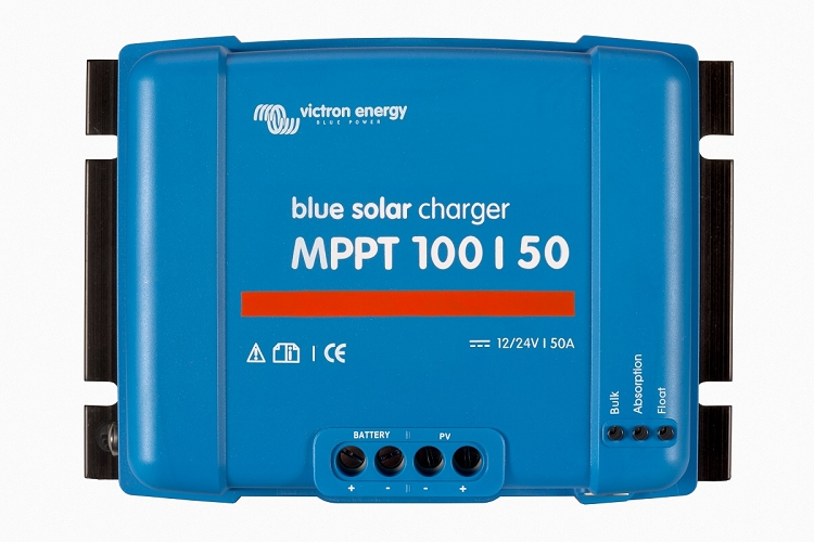 Victron Energy SCC020050200 BlueSolar MPPT 100/50 Charge Controller