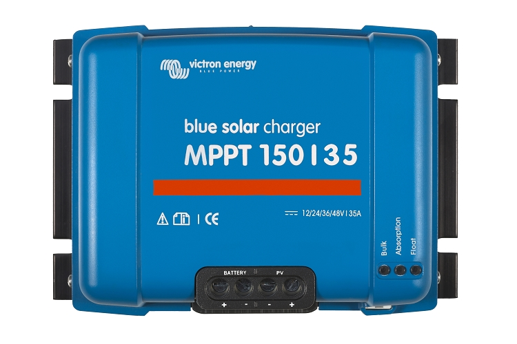 Victron Energy SCC020035000 BlueSolar MPPT 150/35 Charge Controller