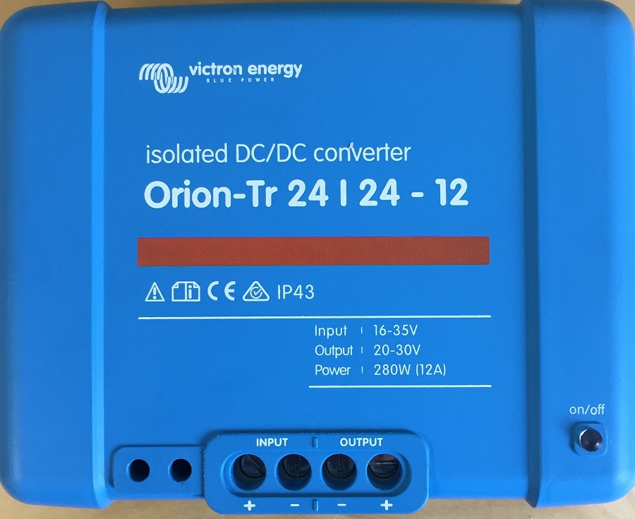 Victron Energy ORI242428110 Orion-Tr 24/24-12A  Isolated DC-DC converter