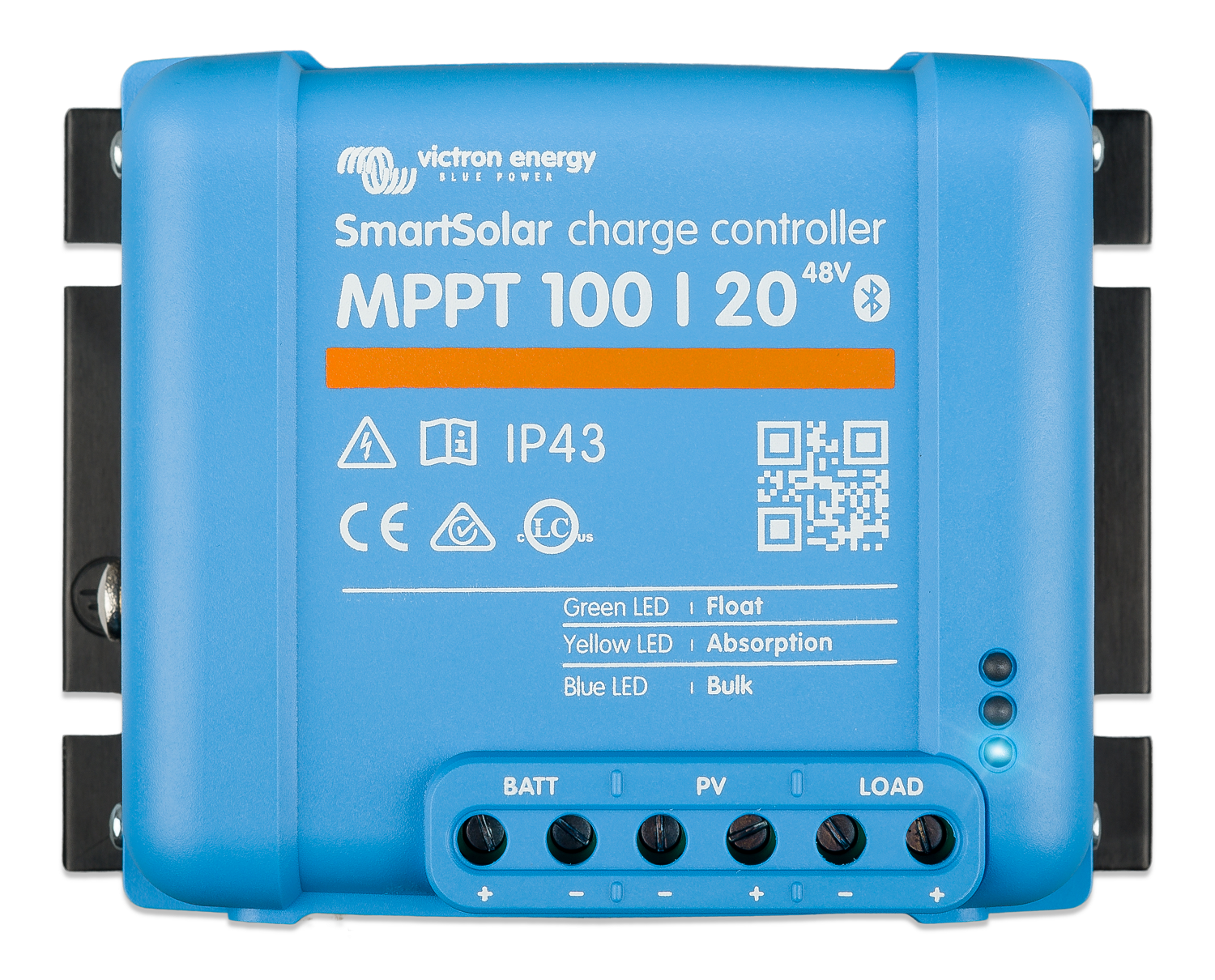 Victron Energy SCC110020160R  Smart Solar MPPT 100/20 Charge Controller (12-48 Volts)