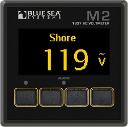 Blue Sea 1837 M2 Digital AC Voltmeter with OLED display