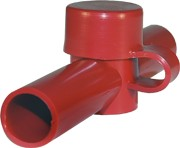 Blue Sea 4003 Dual Entry CableCap - Red