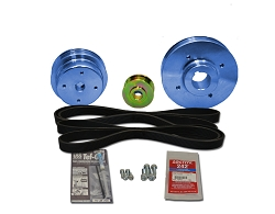 Balmar Serpentine Pulley Conversion Kit 48-USP-5432 for Universal marine diesel model  5432