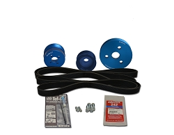 Balmar Serpentine Pulley Kit 48-VSP-D2-A for Volvo D2-55A, B, C, D, E, F