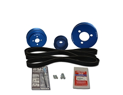 Balmar Serpentine Pulley Kit 48-VSP-MD-B for Volvo MD2040