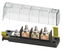 Blue Sea 5196 Terminal Fuse Block for 3 Circuits