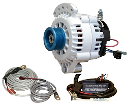 Balmar 621-VUP-24-70-J10 Alternator and regulator kit- 24 Volt 70 Amp J10 Pulley