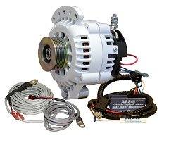 Balmar 621-VUP-150-K6 Alternator and regulator kit -12 Volt 150 Amp K6 Pulley