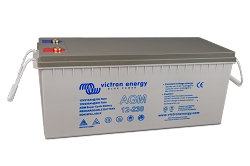 Victron Energy 12V/230Ahr AGM Super Cycle Battery