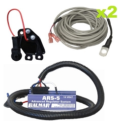 Balmar ARS-5-VL-01 External Regulator Conversion Kit with ARS regulator -  for Valeo 120A/12V Alternators