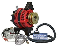 Balmar AT-DF4-200-DV-KIT alternator kit with Max Charge regulator