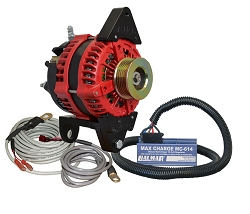Balmar AT-DF4-200-K6-KIT alternator kit with Max Charge regulator