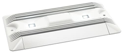 Frensch F-17 Utility Light, Model IL6356, White Aluminum, Cool White LED, no switch
