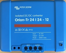 Victron Energy Orion-TR 24/24-12 Isolated DC-DC Converter 12 Amps (280W)