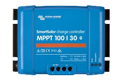 Victron Energy SCC110030210 Smart Solar MPPT 100/30 Charge Controller with Bluetooth
