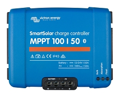 Victron Energy SCC110050210 Smart Solar MPPT 100/50 Charge Controller with Bluetooth